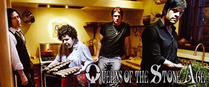 The Queens of The Stone Age - Le groupe en 2007